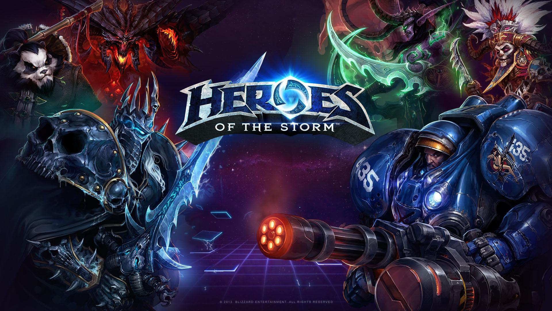 heroes of the storm обои
